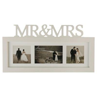 Mr & Mrs Triple Collage Frame