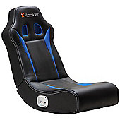 X Rocker Banshee 2.0 Floor Rocker - Black / Blue