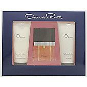 Oscar De La Renta Oscar Gift Set 30ml EDT + 100 Shower Gel + 100ml Body Lotion For Women