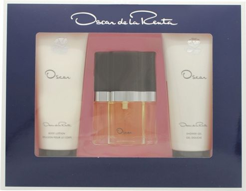 Oscar De La Renta Oscar Gift Set 30ml EDT + 100 Shower Gel + 100ml Body Lotion For Women