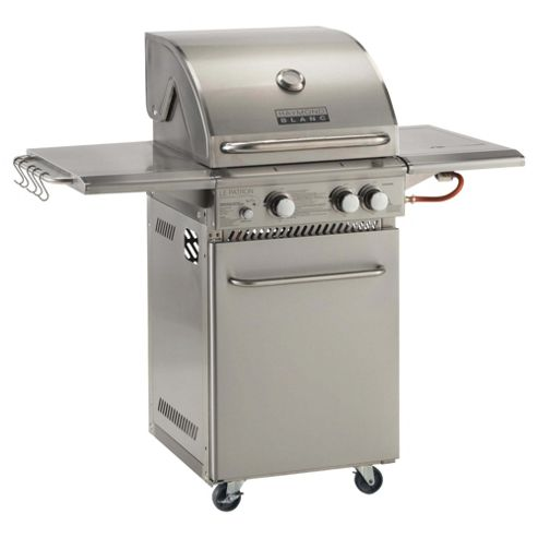 Raymond Blanc 2 Burner Gas BBQ & Side Burner