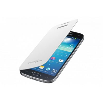 Samsung Original Flip Case For Galaxy S4 Mini - White