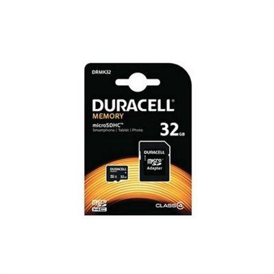 Duracell DRMK32 32GB MicroSDHC Class 4 memory card
