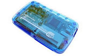Dynamode USB-CR-4P Blue card reader