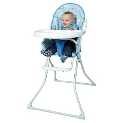 Red Kite Feed Me Highchair Hello Ernest, Blue