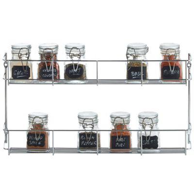 VonShef 2-Tier Spice / Herb Rack