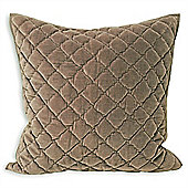 Riva Home Annecy Taupe Cushion Cover - 55x55cm