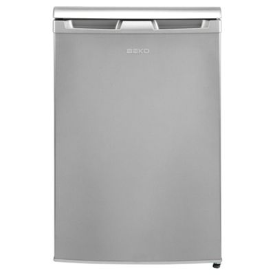 Beko Undercounter Fridge with Freezer compartment, 84cm Height, UR584APS -Silver