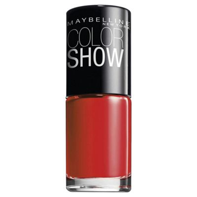Maybelline Color Show Nail 349 Power Red