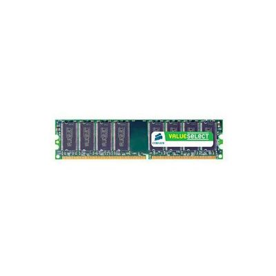 Corsair Microsystems Value Select 4GB Memory Kit 800MHz DDR2 240pin DIMM