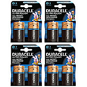 Duracell BUN0079A Alkaline non-rechargeable battery D 8 Pack