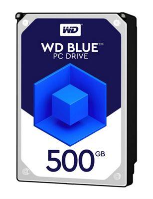 WD 500GB Blue 64 MB 3.5IN SATA 6 Gb/s Hard Drive