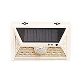 450 Lumens Solar Security PIR Light in White (34 LEDs)