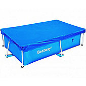 "Bestway 94"" x 59"" Metal Frame Winter Debris Pool Cover"