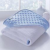 Clair de Lune Luxury Hooded Towel (Dimple Blue)