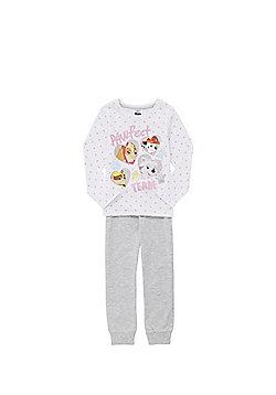 Nickelodeon Paw Patrol Pyjamas - White & Grey