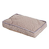 PawHut Pet Bed Padded Sponge Mat for Dog Cat with Removable Washable Cover (Medium)