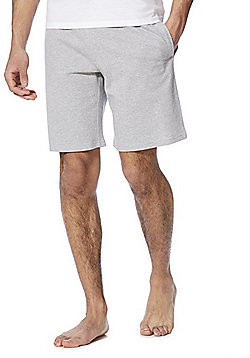 F&F Waffle Jersey Lounge Shorts - Grey