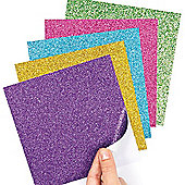 Glitter Self Adhesive Sheets (Pack of 5)
