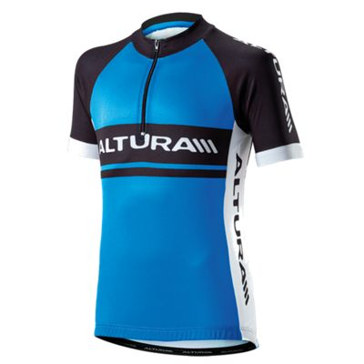 Altura Team Kids Short Sleeve Jersey Blue/Black Size: 5