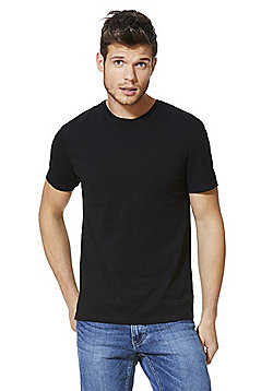 F&F Crew Neck T-Shirt - Black