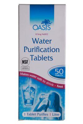 Aquaclear Drinking Water Aqua Purification Tablets Walking Hiking Caravan Boats