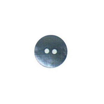Hemline Two Hole Sky Blue Buttons 20mm 3pk