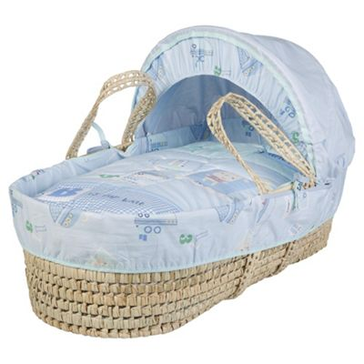 Clair de Lune Ahoy Palm Moses Basket