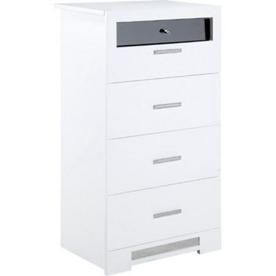 Elements Olivia 5 Drawer Tall Wide Chest