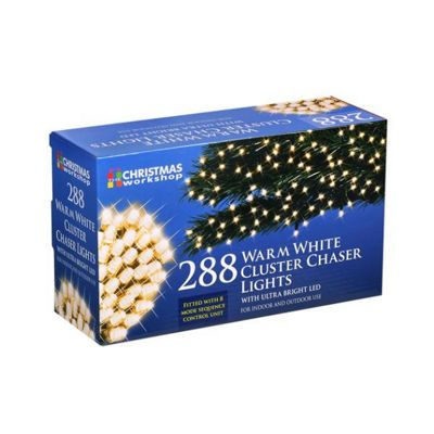 Ultra Bright LED Christmas Cluster Lights