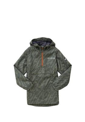 Dare2b Confusion Showerproof Jacket 11-12 years Green