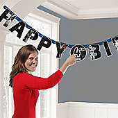 Star Wars Letter Banner - 1.65m Add an Age Happy Birthday Banner