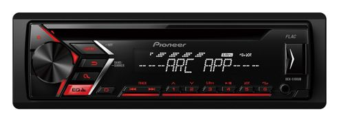 Pioneer InCar Stereo│Radio│CD│MP3│FLAC│Front USB-Aux│Android│Red Illumination