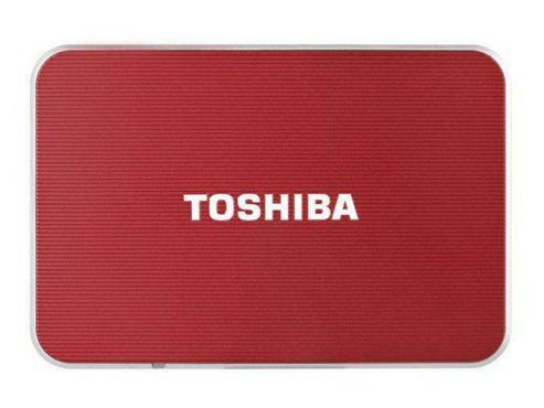 Toshiba PA3962E-1E0R Stor.e Edition 500GB Hard Drive 2.5-Inch External (Red)