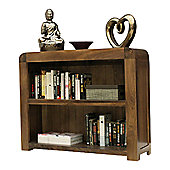 Baumhaus Shiro Low Bookcase in Walnut