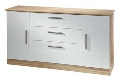 Welcome Furniture Living Room Wide 2 Door / 3 Drawer Unit - Panga