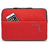 "Targus 360 Perimeter 14"" Sleeve Red 13-14"" Laptop Flame Scarlet"