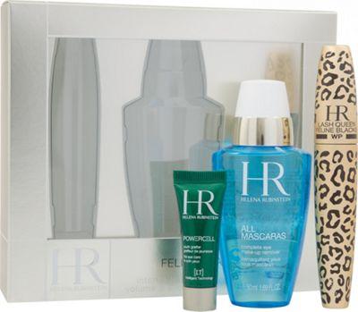 Helena Rubinstein Lash Queen Feline Gift Set 7.2ml Waterproof Mascara + 50ml All Mascaras! Eye Make-Up Remover + 3ml Prodigy Eye Care