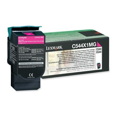 Lexmark C544X1MG Magenta Program Toner Cartridge