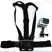 Navitech Body Chest Strap Harness For TheGoXtreme Pioneer Full HD