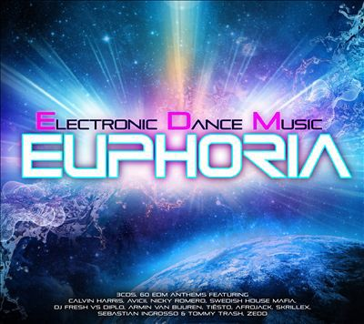 EUPHORIA ELECTRONIC DANCE MUSIC 2013 (3CD)