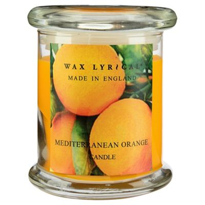Wax Lyrical Made In England Jar Med Orange