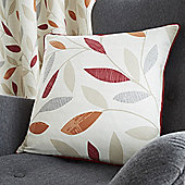Fusion Beechwood Red Cushion Cover 43x43cm
