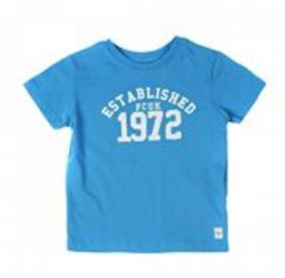 French Connection Blue '1972' Logo Tee 5-6Y