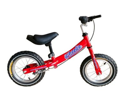 Tiger Wheelie Kids Toddler Balance Bike Red 12