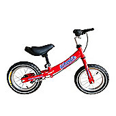 "Tiger Wheelie Kids Toddler Balance Bike Red 12"" Wheel"