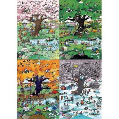4 Seasons - 2000pc Puzzle