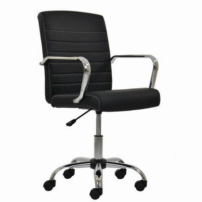 Ryder Ribbed Office Chair Black
