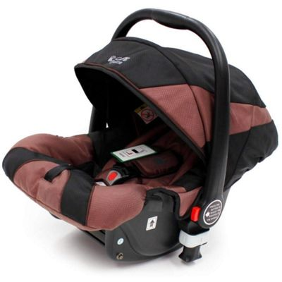 iSafe Pram System Group 0+ Car Seat (Black/Hot Chocolate)