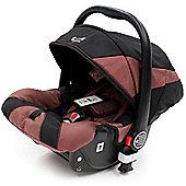 iSafe Pram System Group 0+ Car Seat (Black/Hot Chocolate)